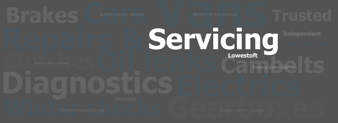 Car and Van Servicing Lowestoft - Battery Green Garage
